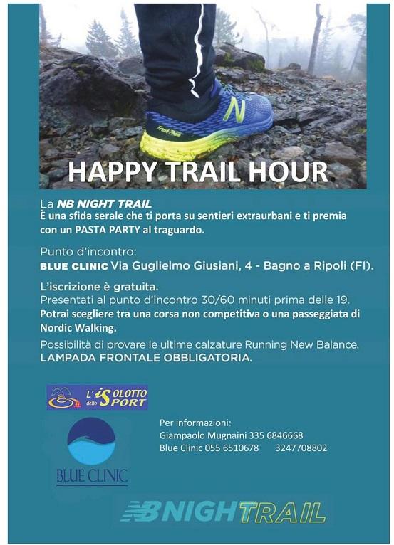 Happy trail hour venerd 26 maggio 2017 - Blue clinic firenze bagno a ripoli ...