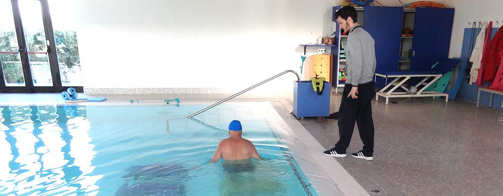 Riabilitazione in piscina (idrokinesi)